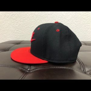 Nike Accessories - Nike black and red snapback hat